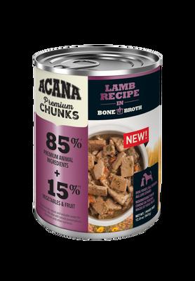 Premium Chunks, Lamb Recipe in Bone Broth