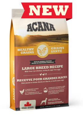 Healthy Grains Large Breed Recipe
