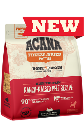 ACANA® Freeze-Dried Food, Ranch-Raised Beef Recipe