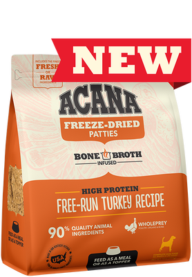 ACANA® Freeze-Dried Food, Free-Run Turkey Recipe