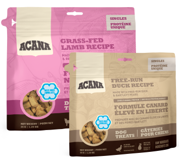 Acana dog treat bags